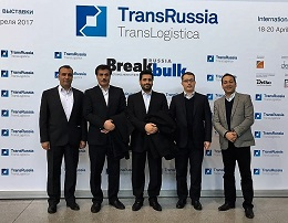 3days visit of the exhibition :Trans Russia2017